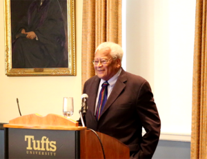 The Rev. Dr. James Lawson during the 2016 ICNC Summer Institute in Boston, Massachusetts. Source: ICNC.